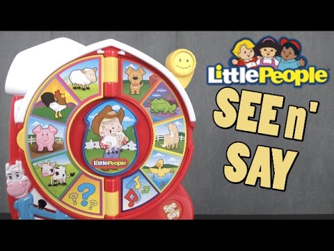 Little People See 'n Say Farmer Eddie Says From Fisher-Price