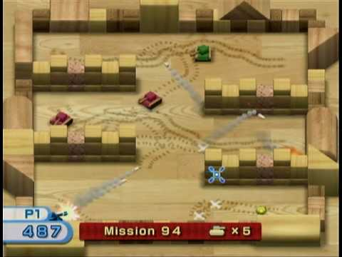 wii play tanks missions 91 95 youtube rh youtube com wii play tanks tactics Wii Play Game 2