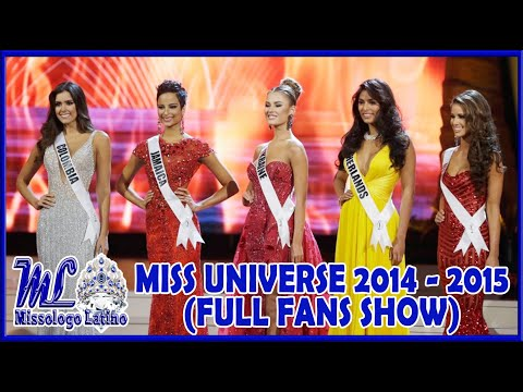 MISS UNIVERSE 2014 - 2015 (FULL SHOW)