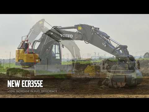 Volvo Construction Equipment New EWR170E, EW220E, ECR355E