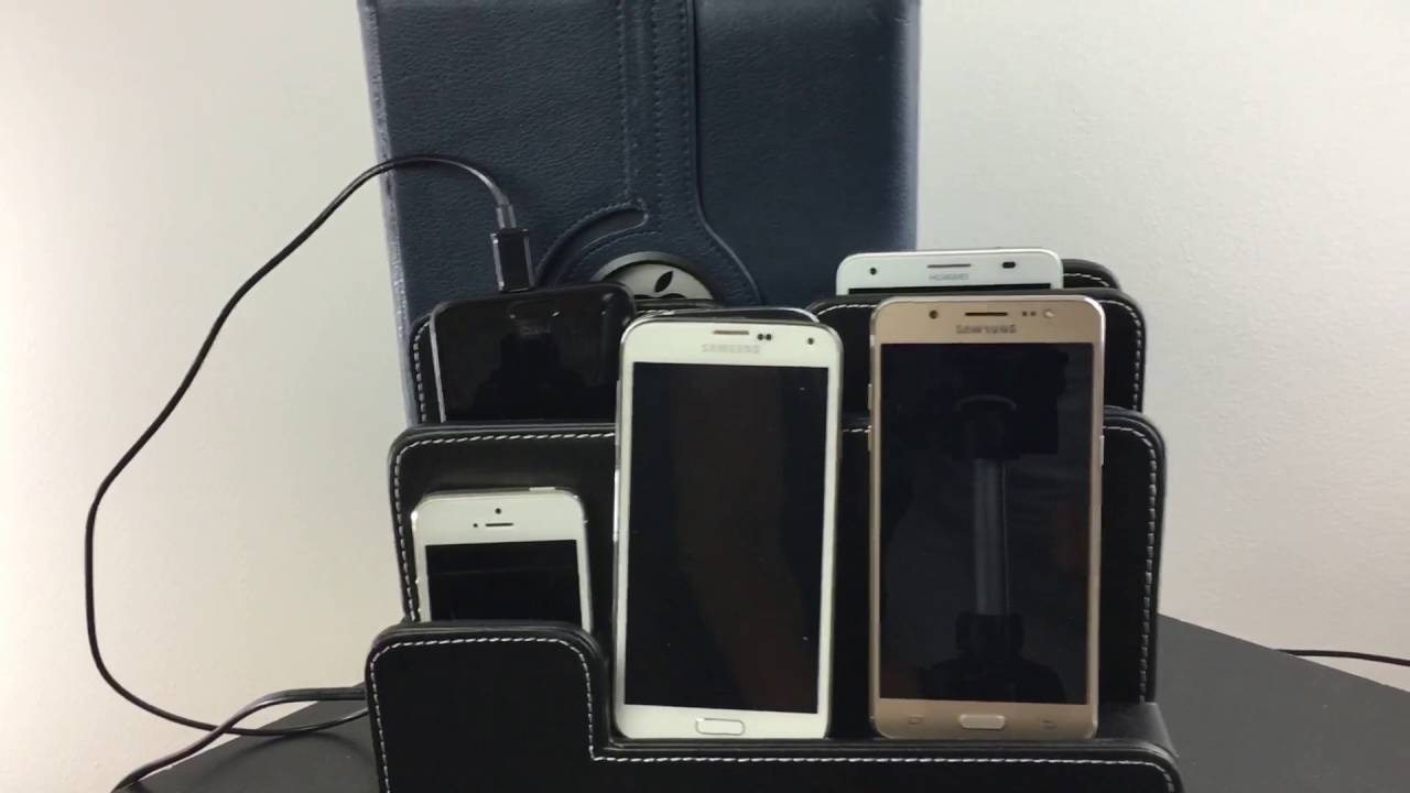 Phone/Tablet/iPad Organizer Charging Dock Station To Clean Your Mess Up!
