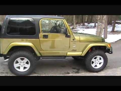 Jeep Wrangler Green >> 97 JEEP WRANGLER SAHARA, GOLEN 4.6 STROKER - SOLD! NEXT PROJECT! - YouTube