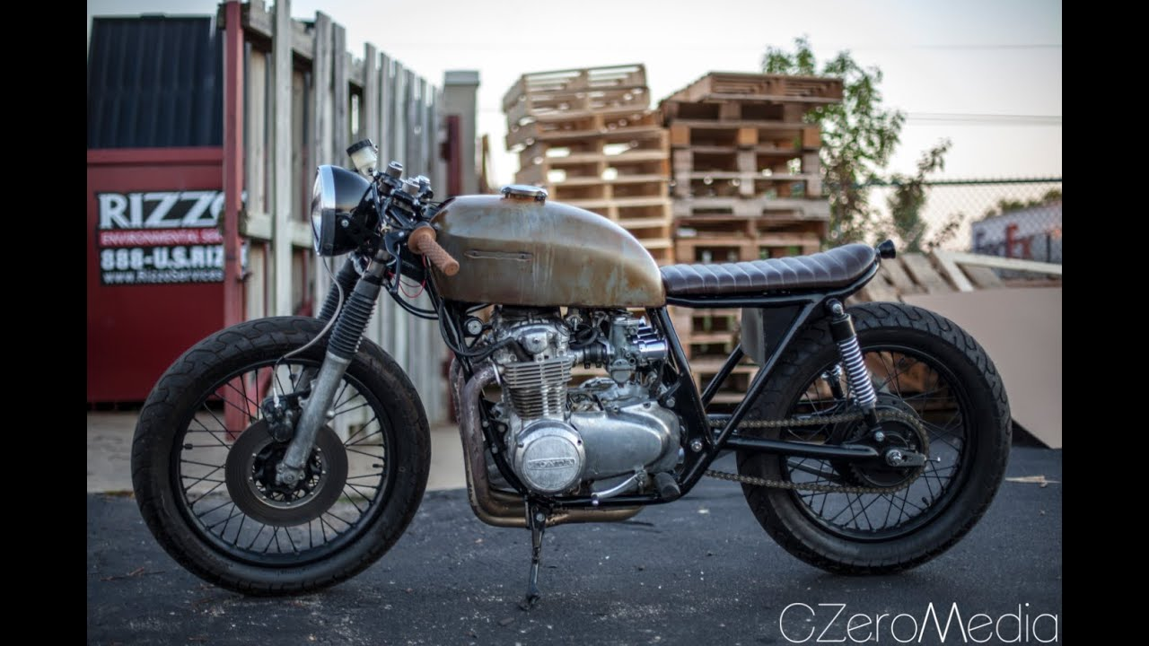 "Favori 75 Honda CB550 Brat Cafe Racer Build Pt. 51 Its ""Complete"" - YouTube FS47"