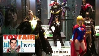Kotobukiya Product Walkthrough at New York Toy Fair 2014 - Star Wars, Marvel, DC, Bishoujo