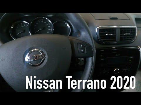 Nissan Terrano 2020:обзор интерьера и багажника