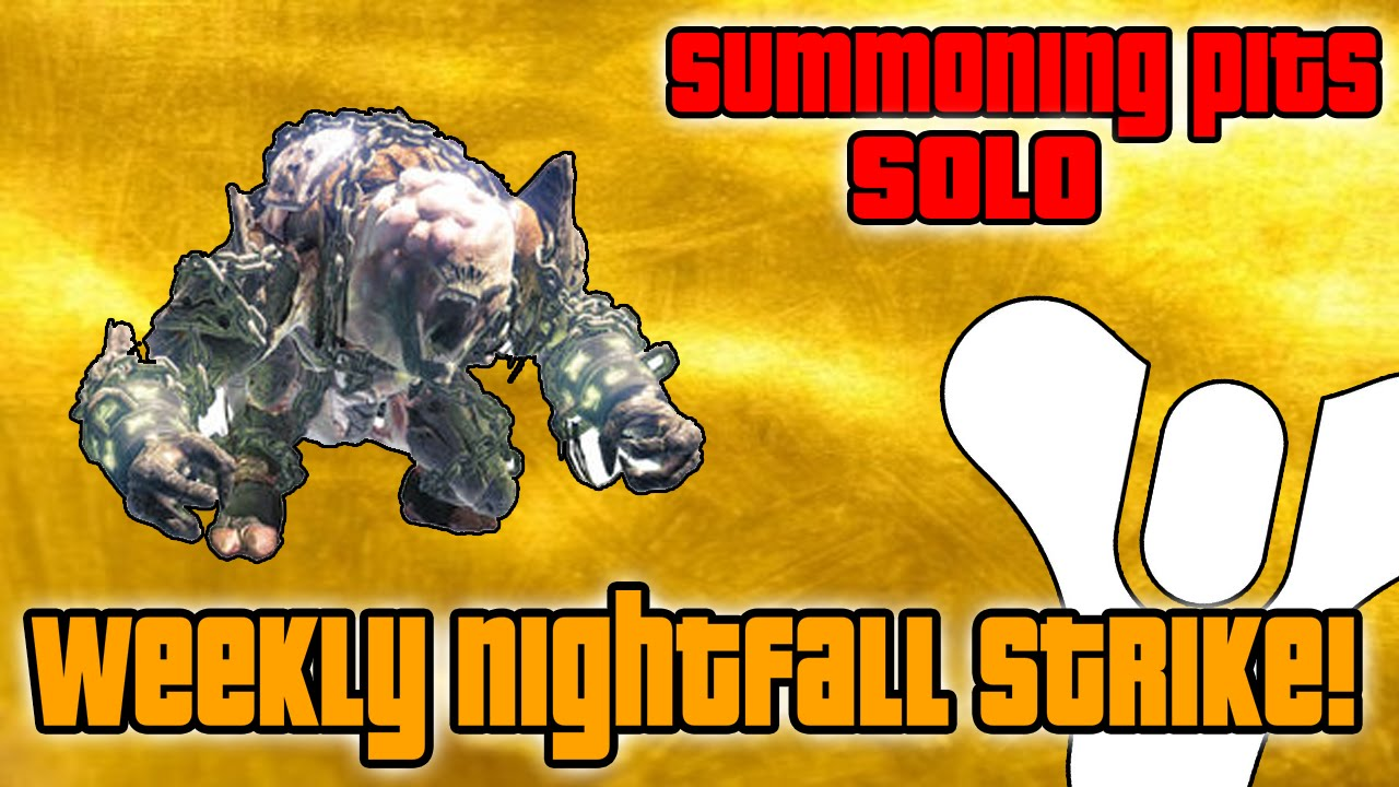 Destiny - Beat This Week's Nightfall Strike With Ease