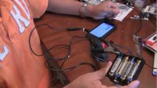 كيفية جعل AA بطارية احتياطية إمدادات الطاقة شحن الهاتف المحمول باستخدام بطاريات AA