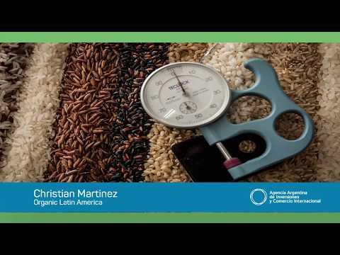 Casos: Internacionalización de arroz orgánico