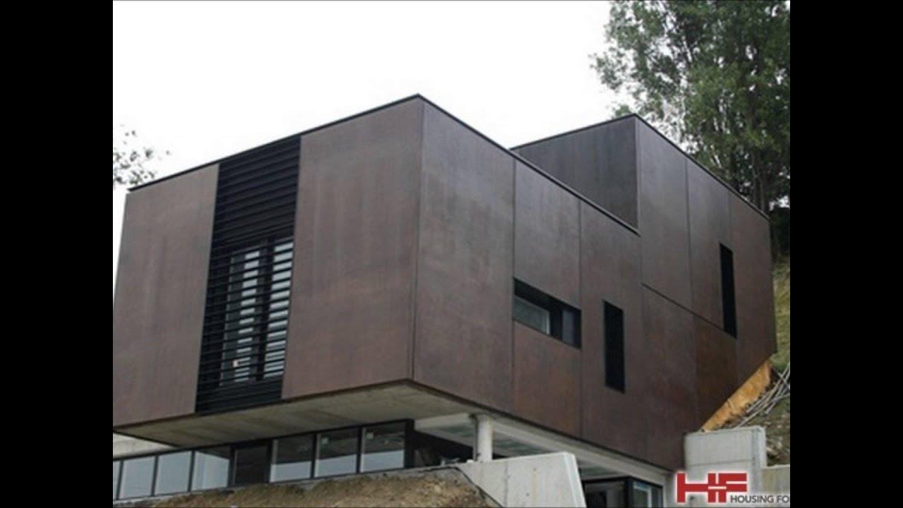 Paneles exteriores para casas best paneles de carton yeso - Paneles para paredes exteriores ...