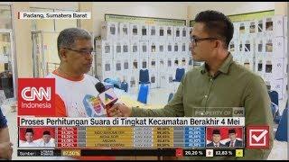 Proses Distribusi & Penghitungan Suara di Sumatera Barat