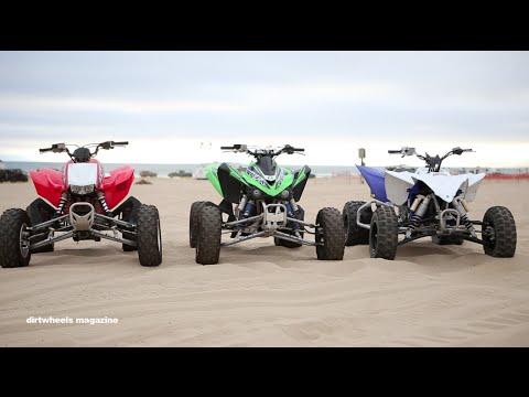 quad yamaha vs honda