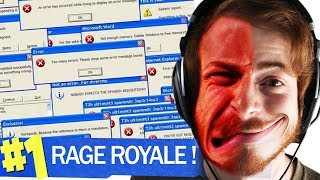 50% TROLL 50% RAGE - FORTNITE