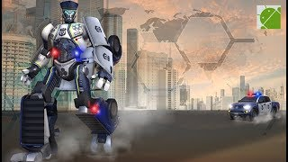 Cop Robot 3D US Police Transform - Android Gameplay FHD