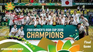 Japan v China - Full Final Game - FIBA Women's Asia Cup 2019