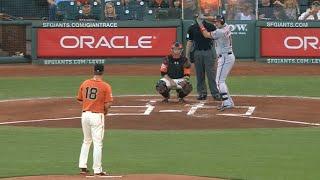 Бейсбол. MLB. Сан Франциско Джайнтс - Вашингтон Нэшнлз (14.08.2015)