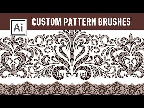 Design Custom Pattern Brushes - Make your own Brushes in Adobe Illustrator thumbnail