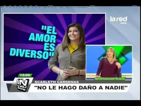 Celebramos el amor diverso: Scarleth Cárdenas firmó el Acuerdo de Unión Civil
