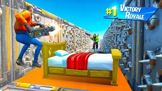 MOST EXTREME BED WARS CHALLENGE in Fortnite Creative