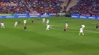 Hiszpania 2 -  0 Gruzja   15 / 10 / 2013