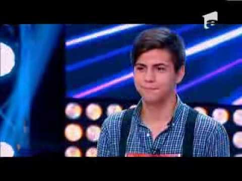 X Factor Romania, sezonul trei - Claudiu Pitaru si-a incercat norocul la X Factor! Si asa a ramas!