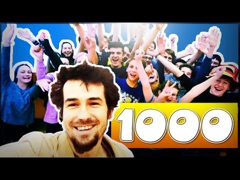 Díky za 1000 odběratelů! Míříme na 10K!