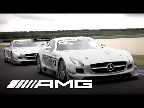 SLS AMG GT3 Warm-Up with Tommy Kendall - Clip 6
