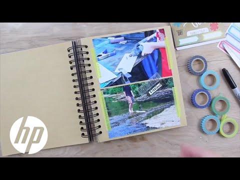 DIY Handmade Memory Book | HP ENVY | HP