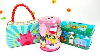 Сюрпирзы и игрушки для детей, распаковываем яйца и пакетики