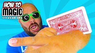 6 CRAZY Card Magic Tricks!