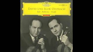 Silent Tone Record/バッハ:2つのヴァイオリンのための協奏曲/イーゴリ・オイストラフ、ダヴィッド・オイストラフ、ユージン・グーセンス指揮ロイヤル・フィルハーモニー管弦楽団