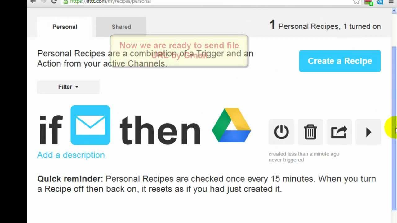 How to upload files to Google drive from URL, method 2