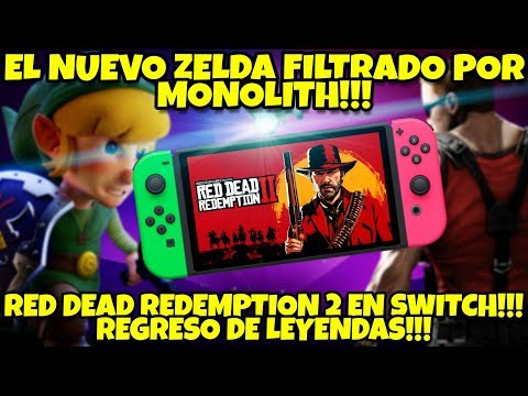 NOTICAS EPICAAAS PLUS: OMG!!! NUEVO ZELDA FILTRADO!!! RED DEAD REDEMPTION 2 SWITCH!!!? Y MAS!!! thumbnail