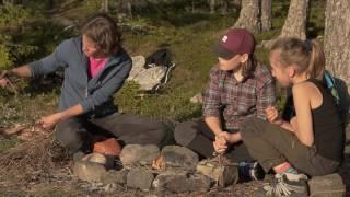 Inlandsbanan: Gör upp eld Mitt i äventyret
