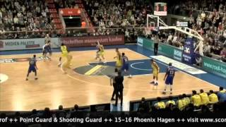 Jonas Grof BEKO BBL Highlights 2015-16