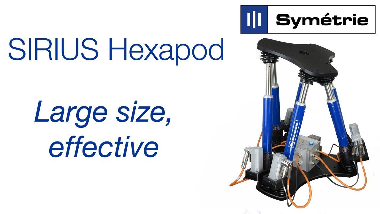 SYMETRIE SIRIUS hexapod - Large size
