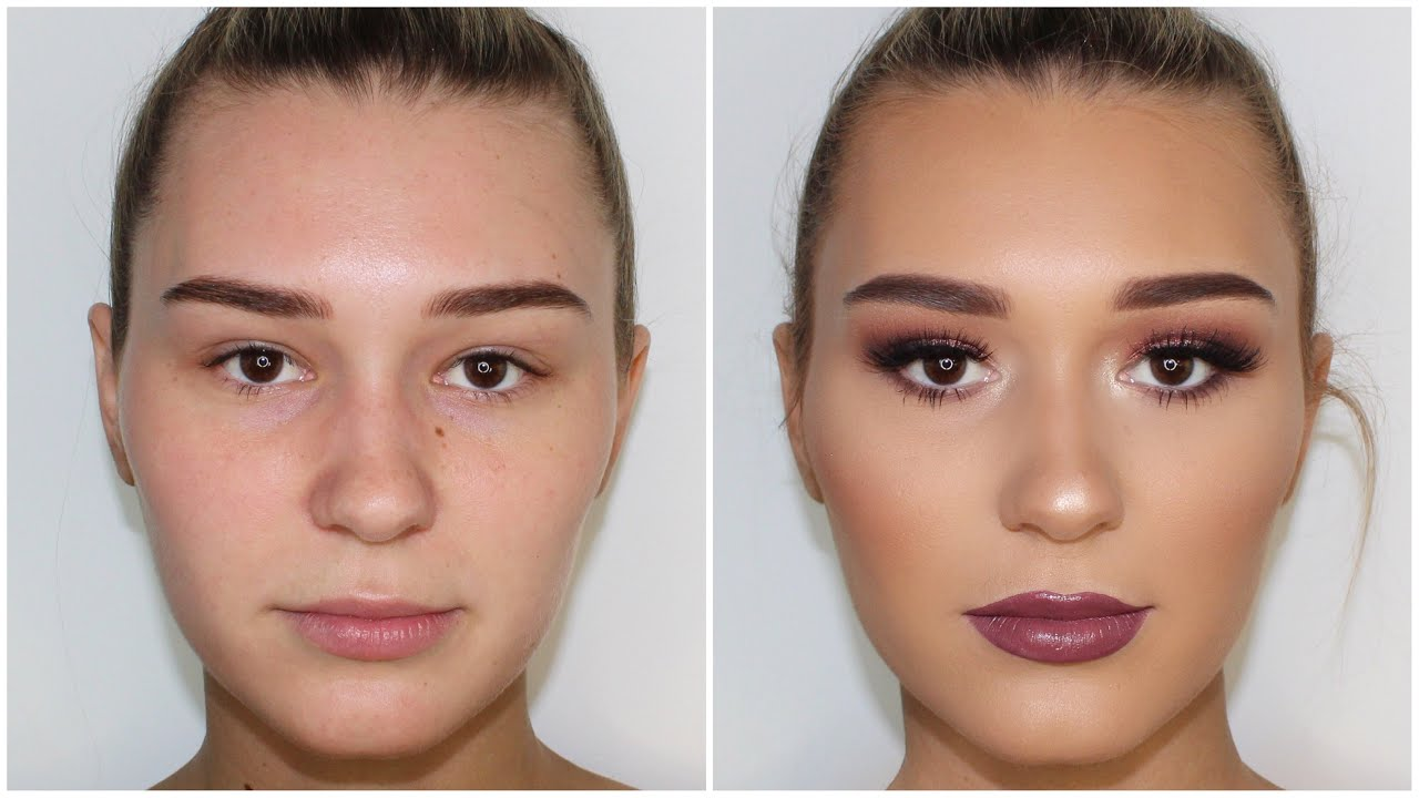 Rose Gold Client Makeup Tutorial Ft Shani Grimmond