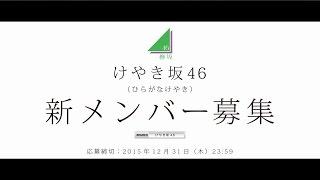 欅坂46のアンダーグループ、けやき坂46(ひらがなけやき)のオーディシ...