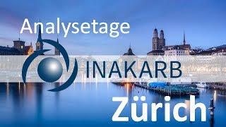 INAKARB Analysetage  am 7. und 8. Juli  2018 in Zürich