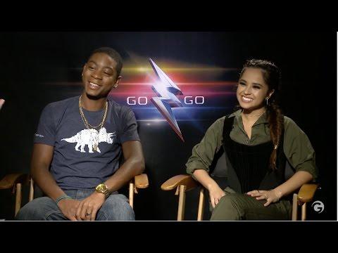 Becky G and RJ Cyler Talk Pranking Power Rangers Cast fragman