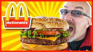 Mcdonald's Angus Third Pounder Deluxe (without Pickles!)