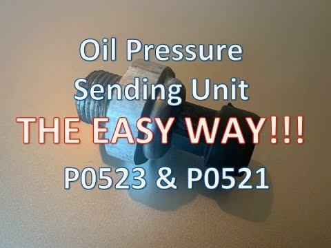 GMC Yukon Oil Pressure Sensor Replacement - THE EASY WAY!