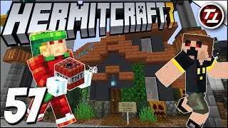 The Trick or Treat House! - Hermitcraft 7: #57