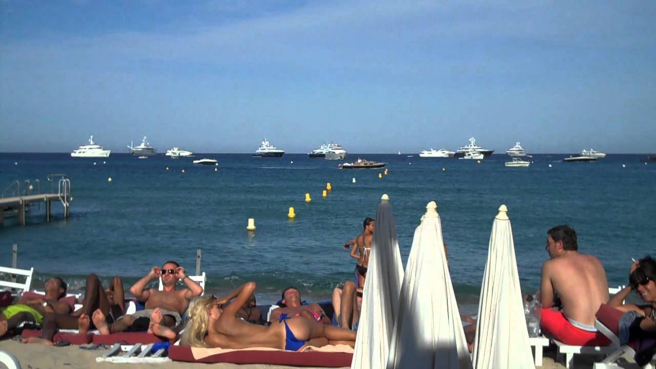 St Tropez Beach France Youtube