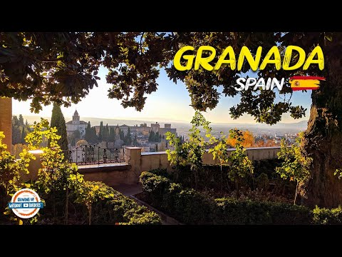 A Walking Tour of Granada Spain and the Alhambra | 80+ Countries w/3 kids