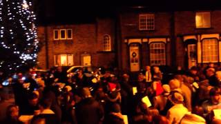 Midnight Carol Singers & Brass Band. Maypole, Warley, Halifax 2012 (720 HD version)