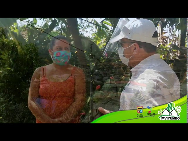 Visita técnica a los postulados al Subsidio de Mejoramiento de Vivienda en la comuna 1.
