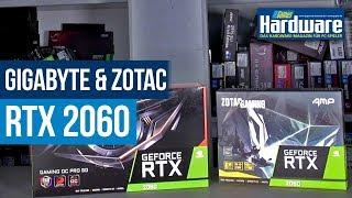 RTX 2060 Review   Zotac AMP! & Gigabyte Gaming OC Pro
