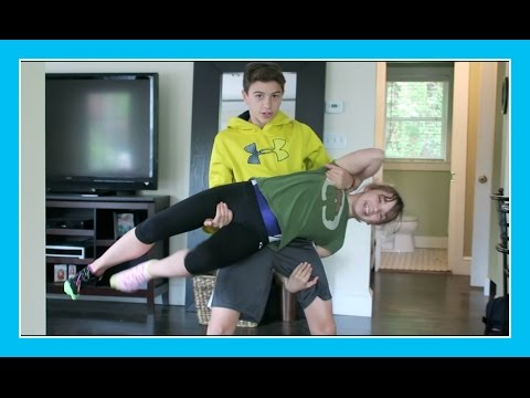 MOM, CAN I DROP HER? | Flippin' Katie