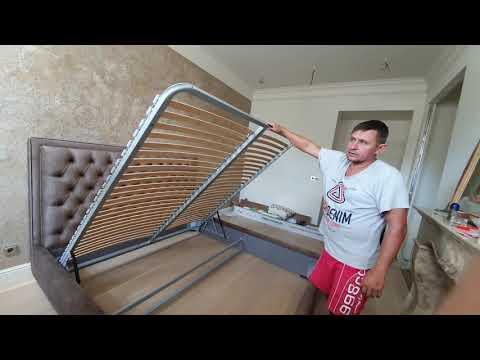 Привезли кровать...))) супер
