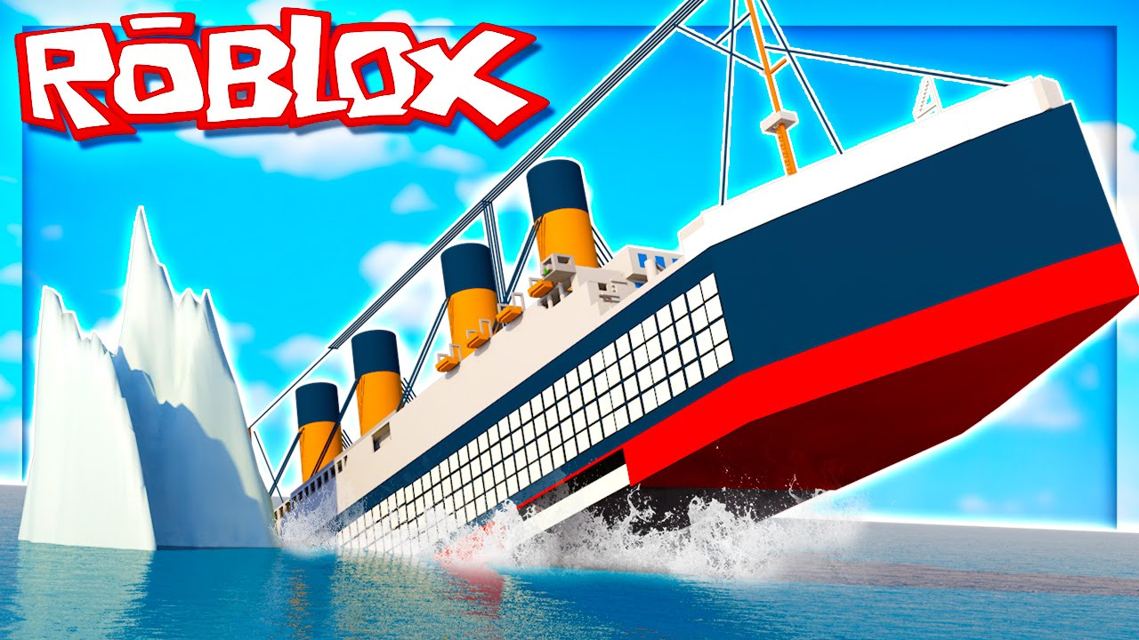 Surviving The Titanic In Roblox Youtube